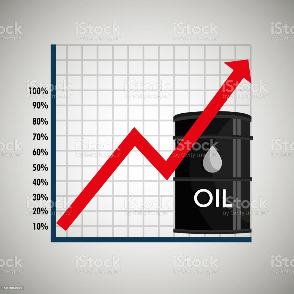 Oil Prices Infographics Icon Stock Vector Art More Images Of