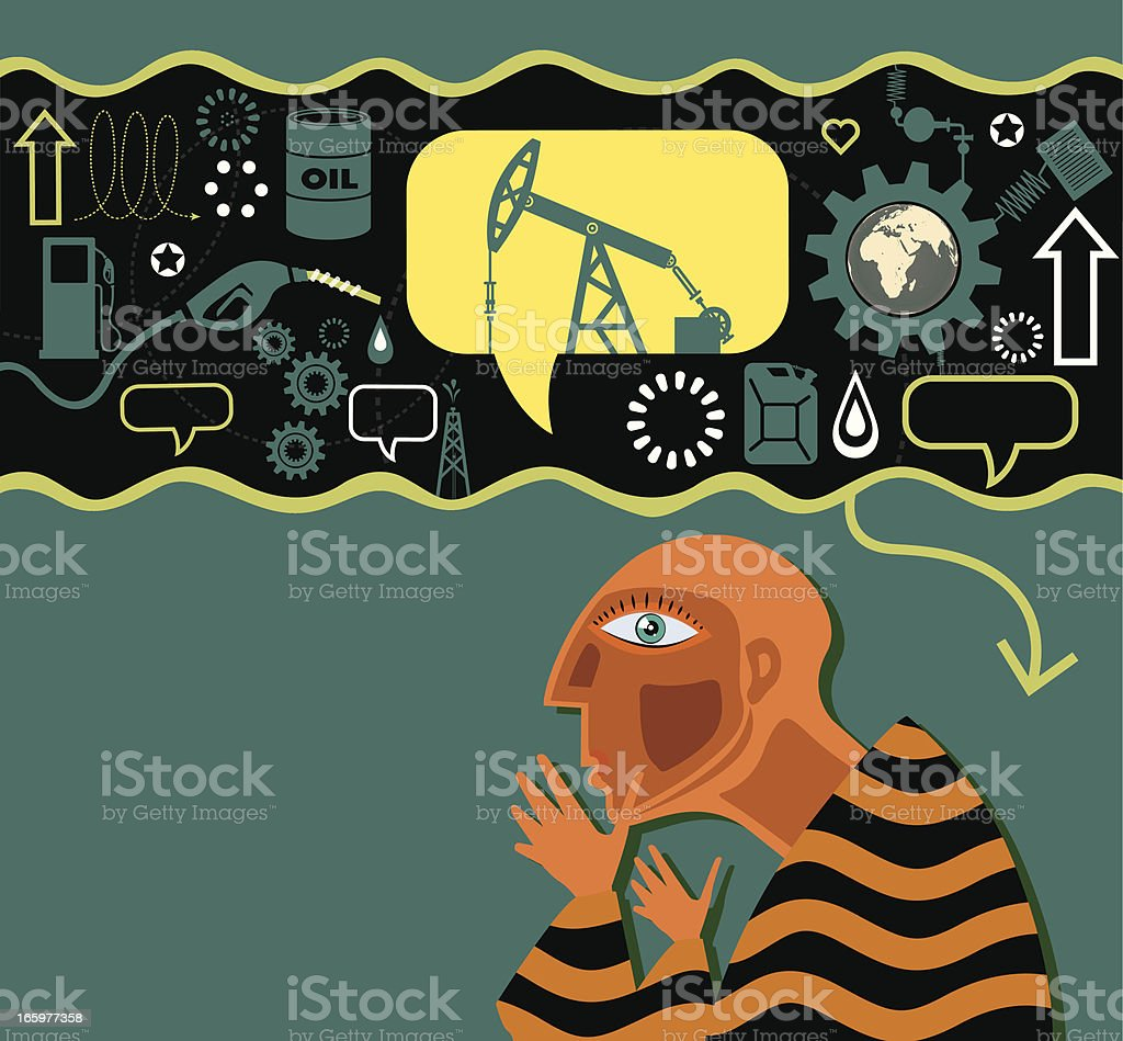 Oil Production and World royalty-free oil production and world stock vector art & more images of adult