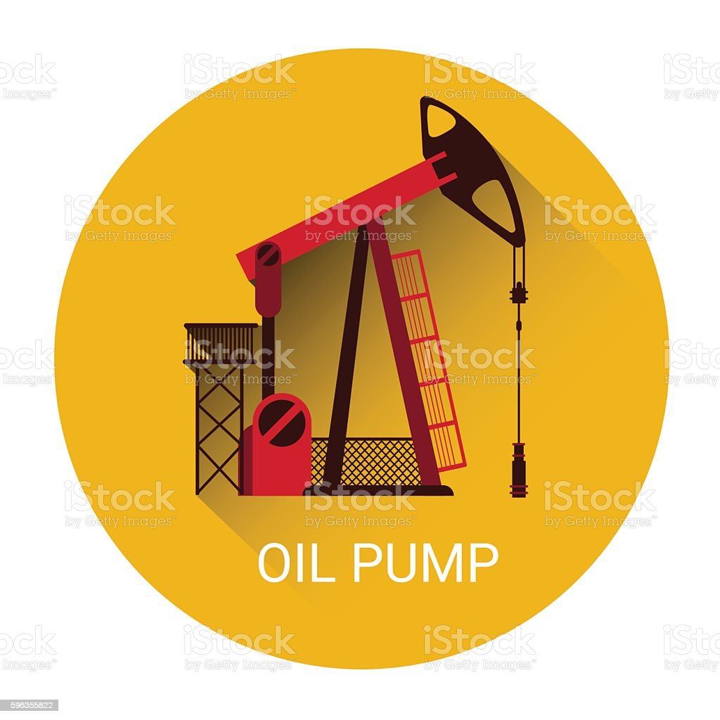 Oil Pump Icon royalty-free oil pump icon stock vector art & more images of business
