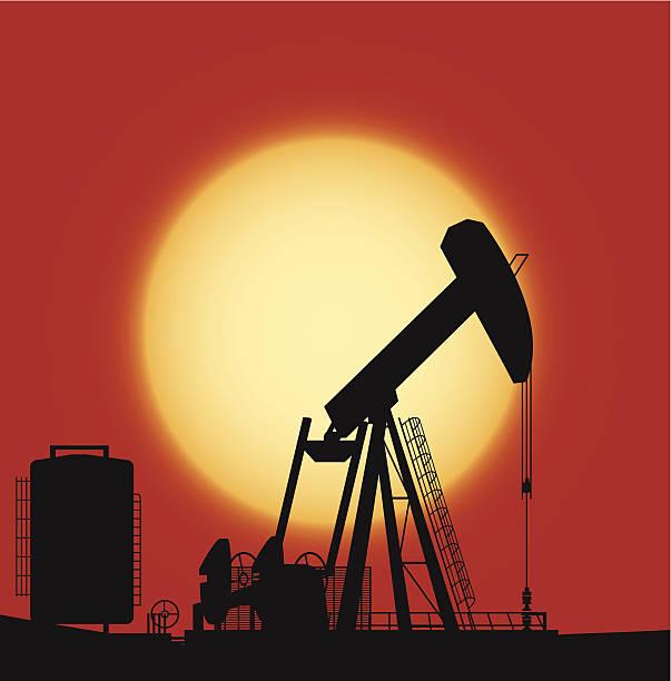 oil pump - 阿爾及利亞 幅插畫檔、美工圖案、卡通及圖標