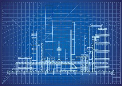 Oil Refinery Blueprint
