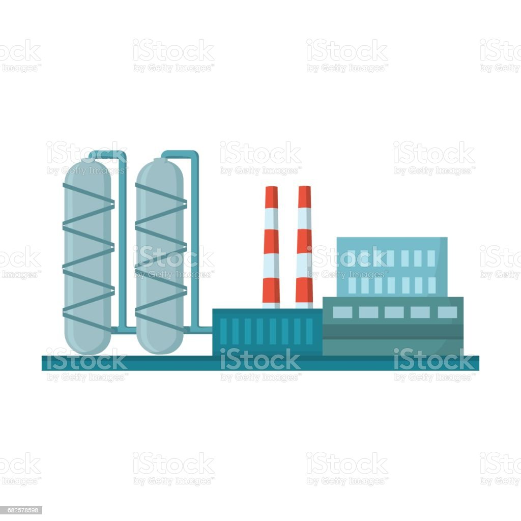 Oil refinery factory icon in cartoon style isolated on white oil refinery factory icon in cartoon style isolated on white background oil industry symbol stock biocorpaavc Gallery
