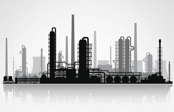 Best Refinery Illustrations, Royalty-Free Vector Graphics ...