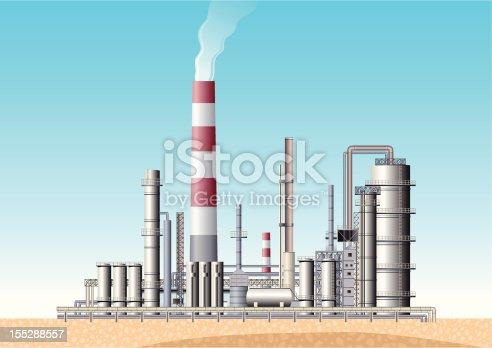 istock Oil Refinery 155288557