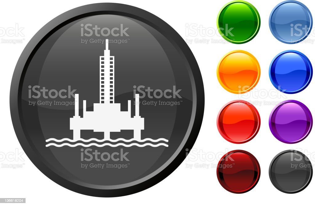 oil rig royalty free vector art royalty-free oil rig royalty free vector art stock vector art & more images of black color