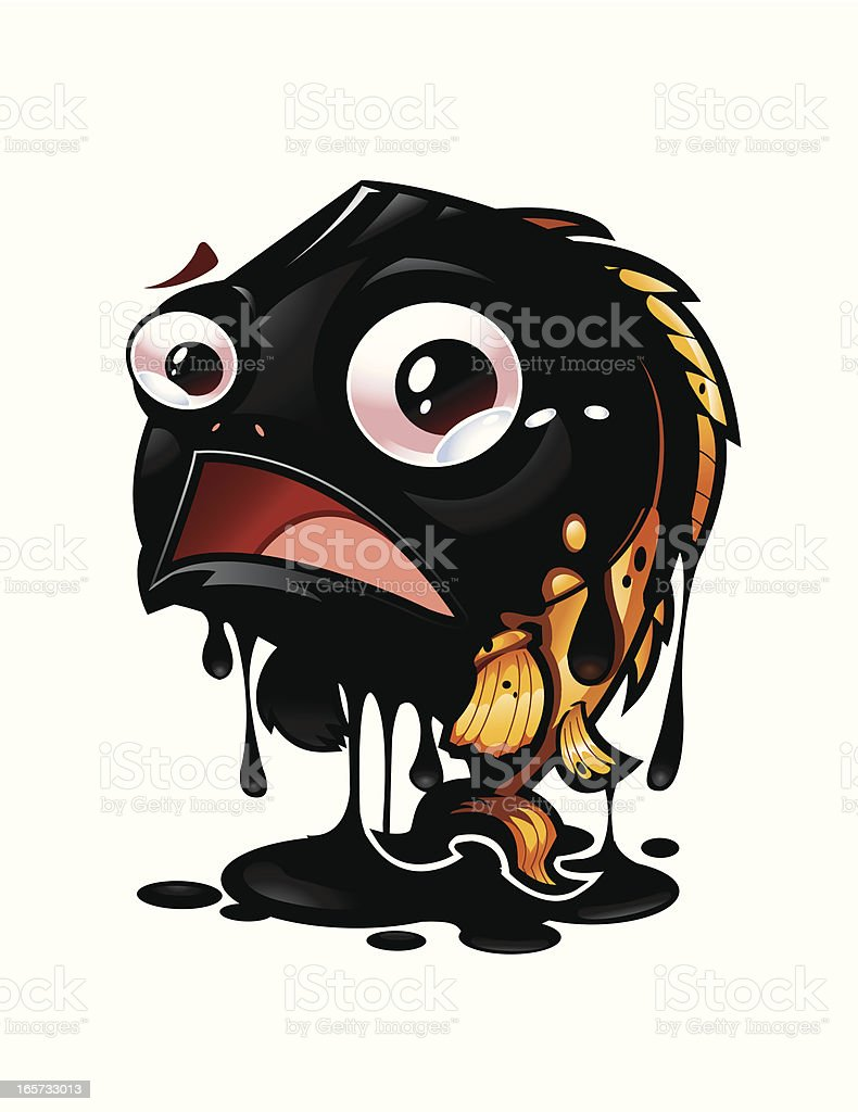 Oil Spill royalty-free oil spill stock vector art & more images of animal