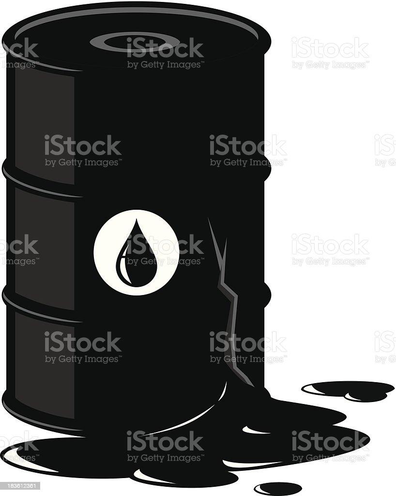 Oil royalty-free stock vector art