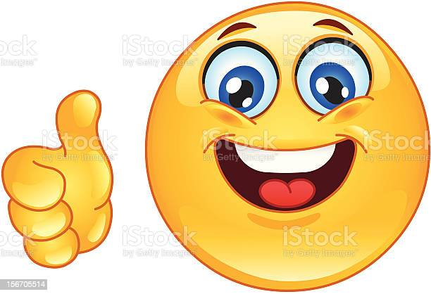 Ok Emoticon Stock Illustration - Download Image Now