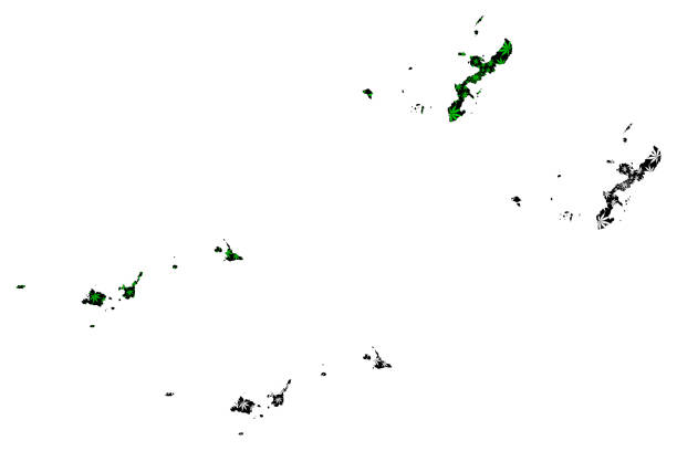 Okinawa Prefecture (Administrative divisions of Japan, Prefectures of Japan) map is designed cannabis leaf green and black, Okinawa map made of marijuana (marihuana,THC) foliage, Okinawa Prefecture (Administrative divisions of Japan, Prefectures of Japan) map is designed cannabis leaf green and black, Okinawa map made of marijuana (marihuana,THC) foliage, naha stock illustrations