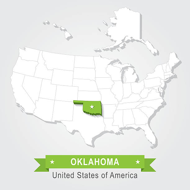 Oklahoma Ipl Stately Knowledge Facts About The United States - Oklahoma usa map