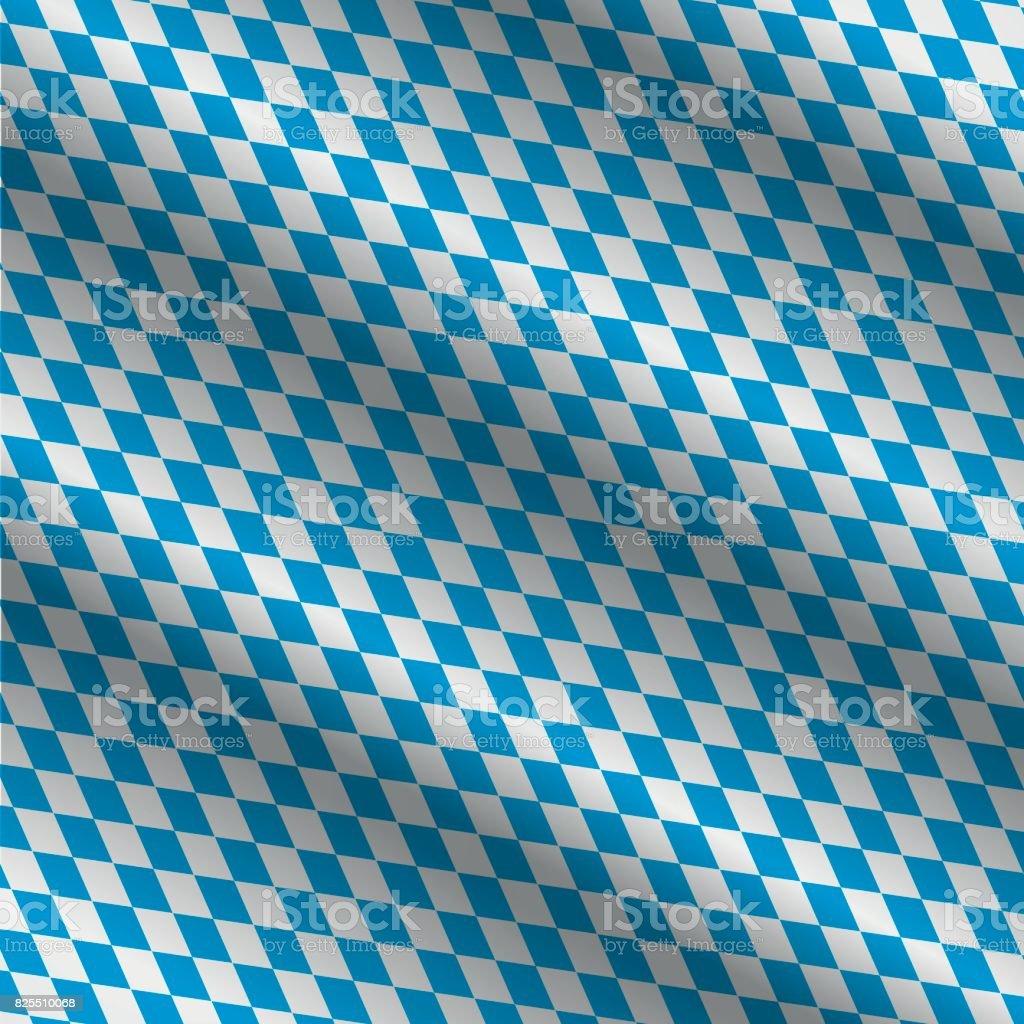Oktoberfest-Blauem Hintergrund – Vektorgrafik