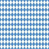Oktoberfest blue rhombus background