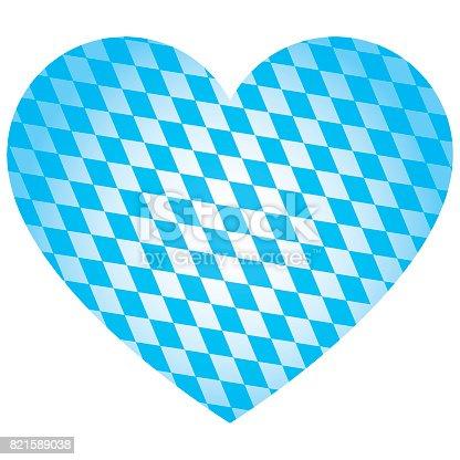 istock Oktoberfest Heart Vector 821589038