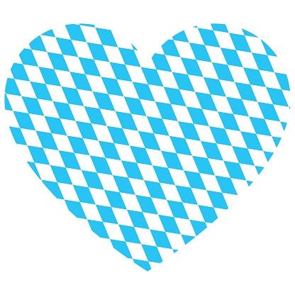 Oktoberfest Heart Vector