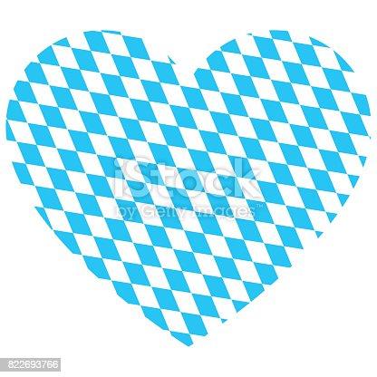 istock Oktoberfest Heart Vector 822693766