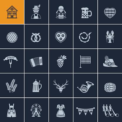 Oktoberfest Icon Set