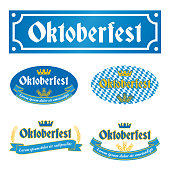 Oktoberfest Label. EPS10 layers  (removeable) and high resolution jpeg file included (300dpi).