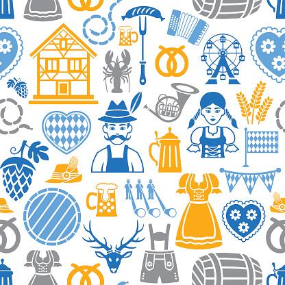 Oktoberfest Repetitive Pattern