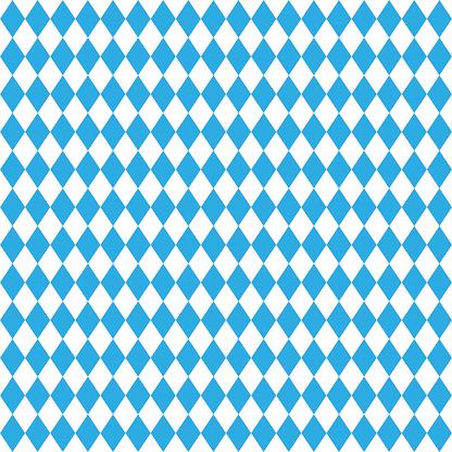 Oktoberfest traditional Bavarian linen flag background.
