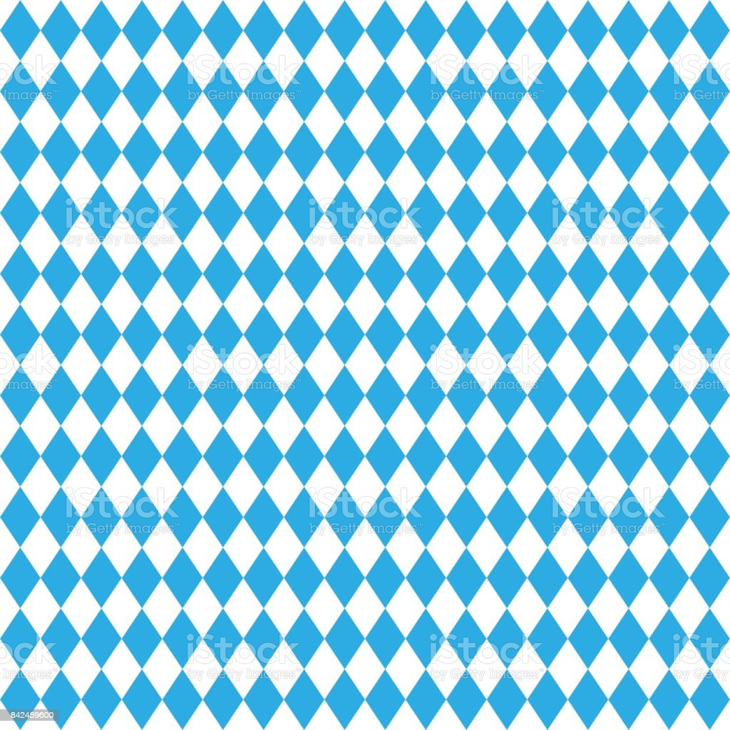 Oktoberfest traditional Bavarian linen flag background. vector art illustration