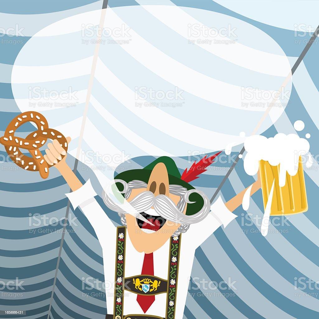 Oktoberfest royalty-free stock vector art