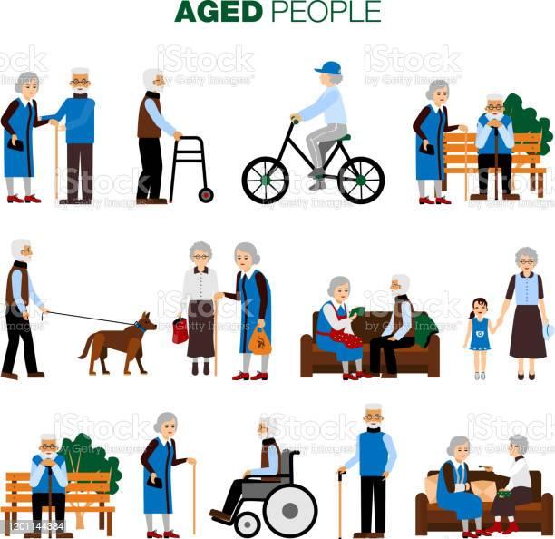 Old age people set vector id1201144384?b=1&k=6&m=1201144384&s=612x612&h=ter0sxkibvs0vz dlff 9u9srchqlxpajjtreyxi1zc=