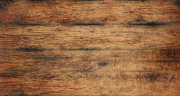 ilustrações de stock, clip art, desenhos animados e ícones de old aged brown wooden planks background texture - table