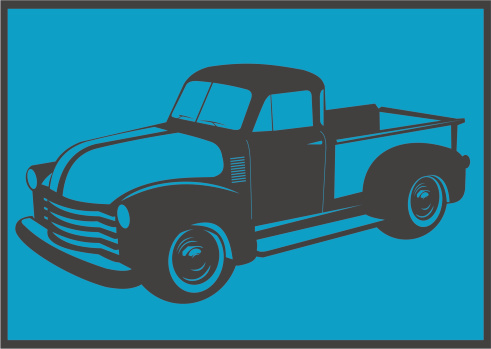 Old american truck