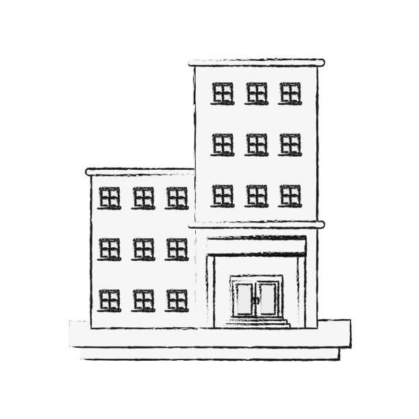 altimmobilien turm gebäude - blackpool stock-grafiken, -clipart, -cartoons und -symbole