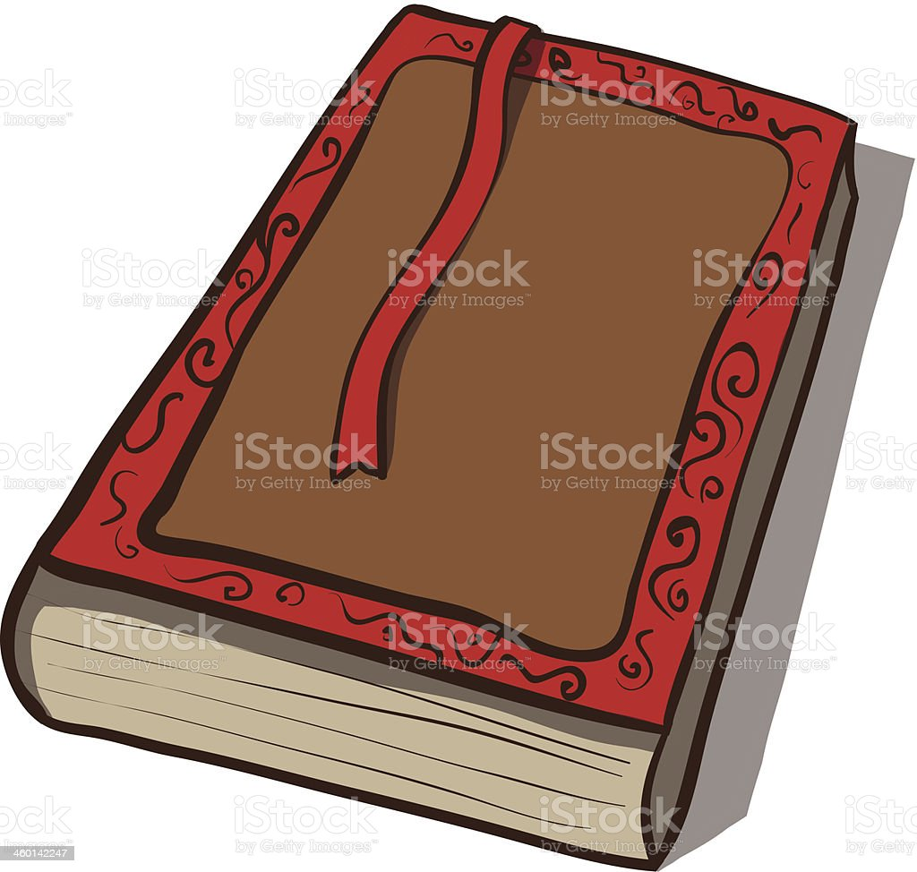 Old book. Vector icon. Hand drawn illustration royalty-free old book vector icon hand drawn illustration stock vector art & more images of ancient