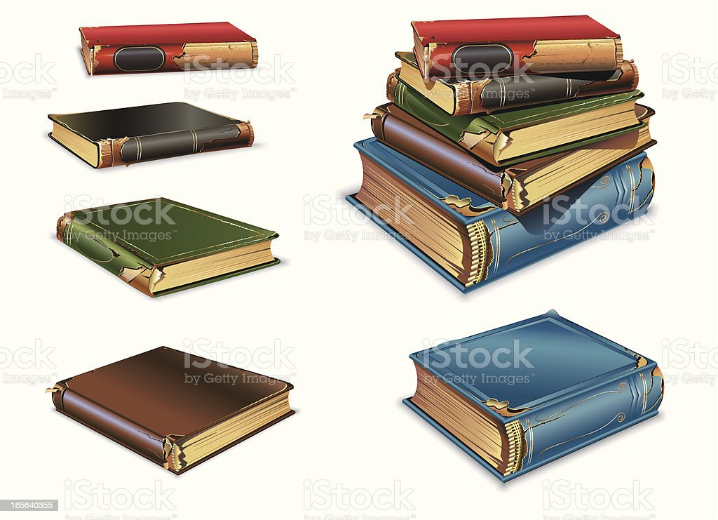 Old book royalty-free old book stock vector art & more images of antique
