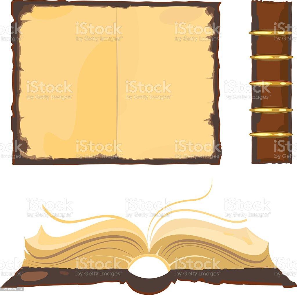 Old book – Vektorgrafik