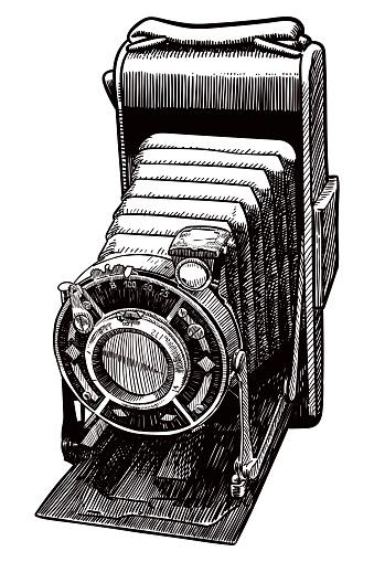 Old camera drawing
