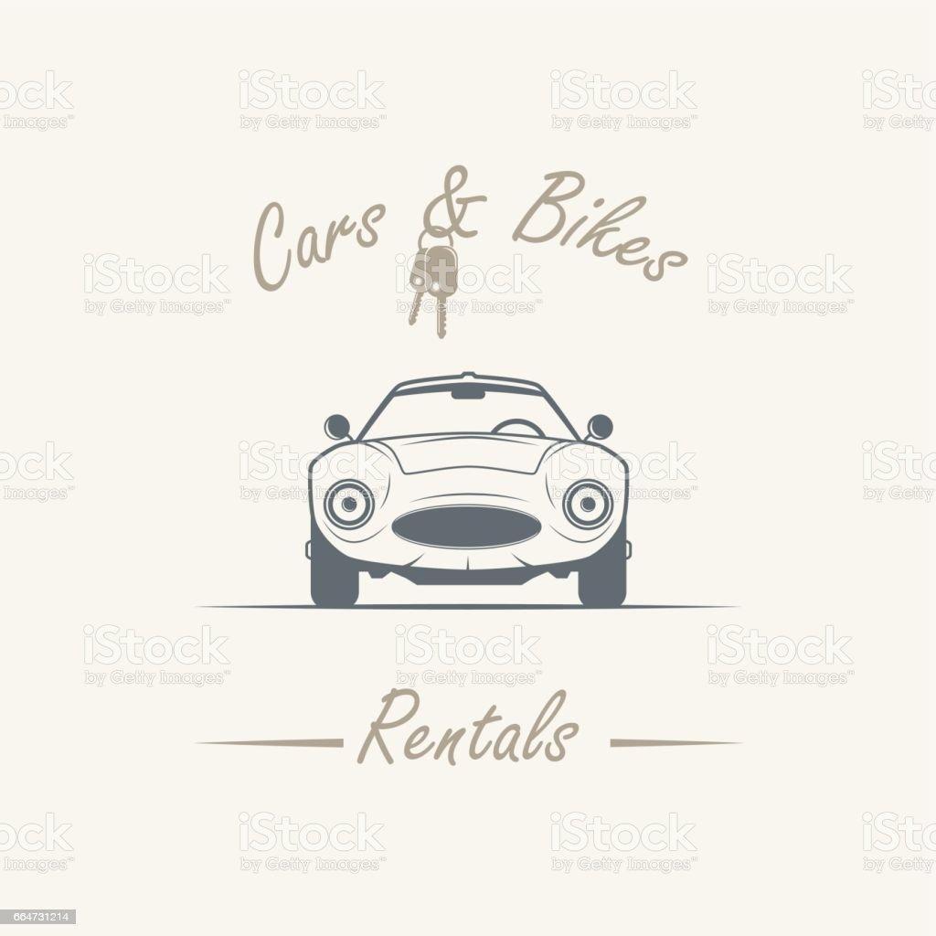 Old Car In Vintage Style Stock Illustration Download Image Now Istock