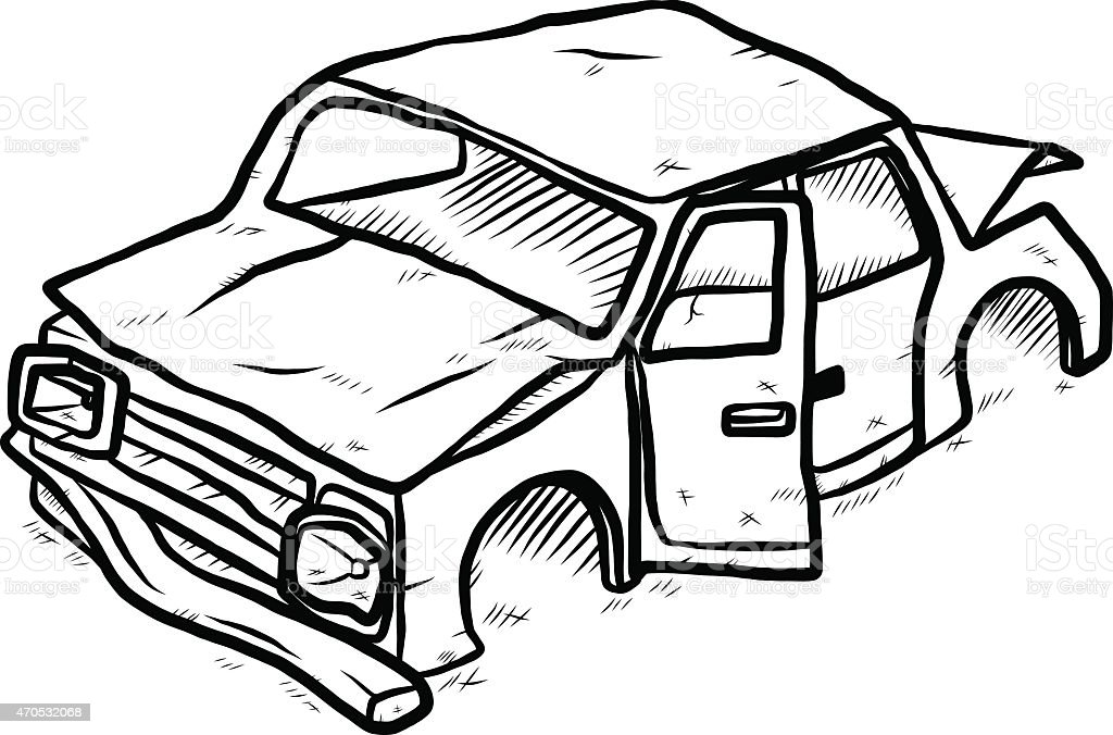 Old Car Stock Vector Art & More Images of 2015 470532068 | iStock