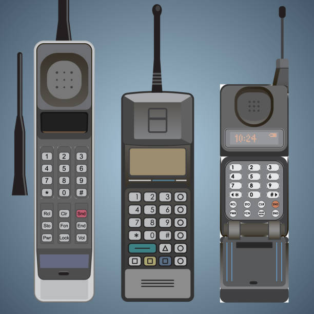 Royalty Free Brick Phone Clip Art, Vector Images ...Old Cell Phone Clip Art