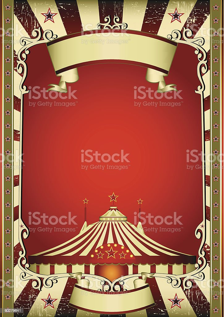 old circus royalty-free stock vector art