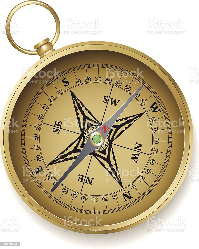 Old compass royalty-free old compass stock vector art & more images of antique