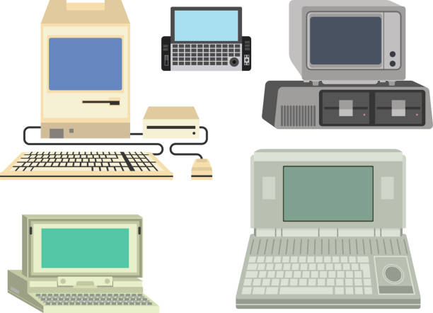 Royalty Free Old Mainframe Computer Clip Art, Vector Images ...