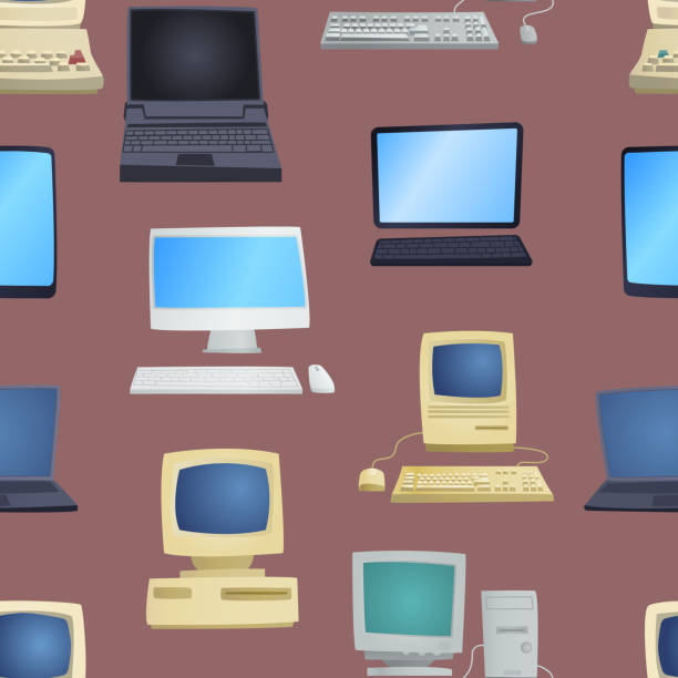 Old Mainframe Computer Illustrations, Royalty-Free Vector Graphics & Clip Art - iStock