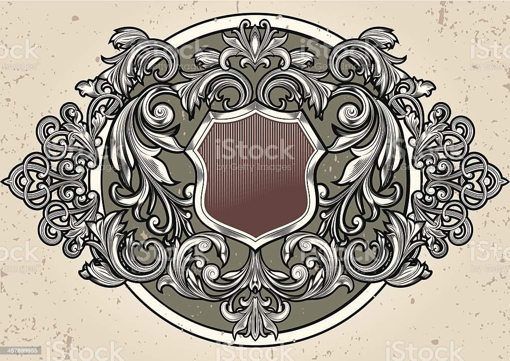Old emblem royalty-free old emblem stock vector art & more images of abstract