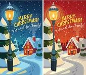 Christmas card \ poster \ banner. Vector illustration.
