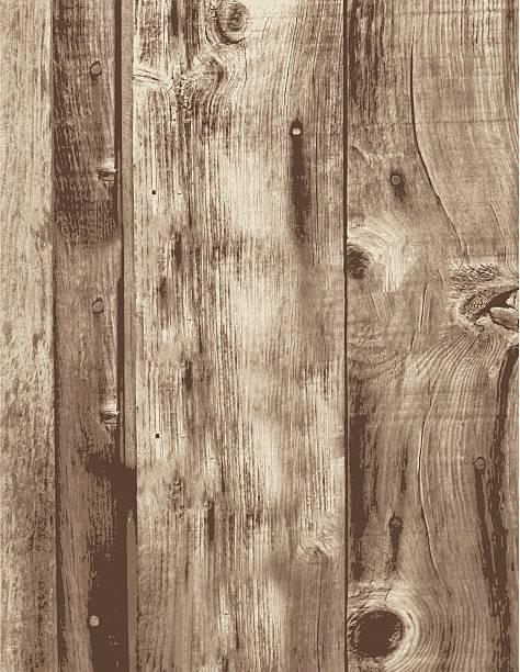 ilustrações, clipart, desenhos animados e ícones de velho grunge madeira vazio vertical talos de quadros - textura de madeira