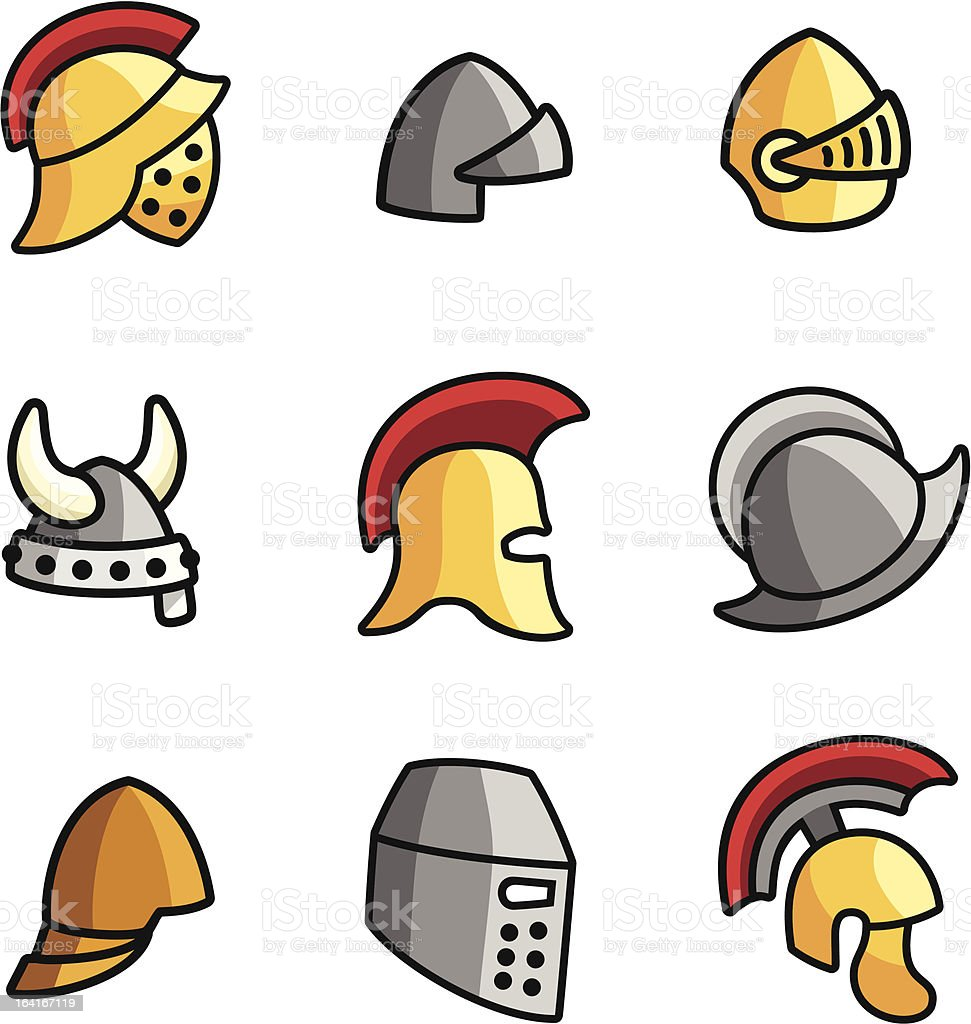 Old Helmets royalty-free old helmets stock vector art & more images of ancient