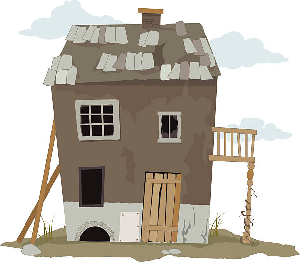 Royalty Free Old House Clip Art, Vector Images