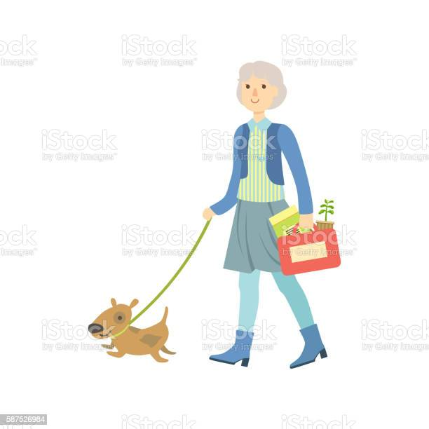 Old lady walking a dog vector id587526984?b=1&k=6&m=587526984&s=612x612&h=hbi35 uihssyxmwcf7w xurcohhzji6zabij9aov5nm=