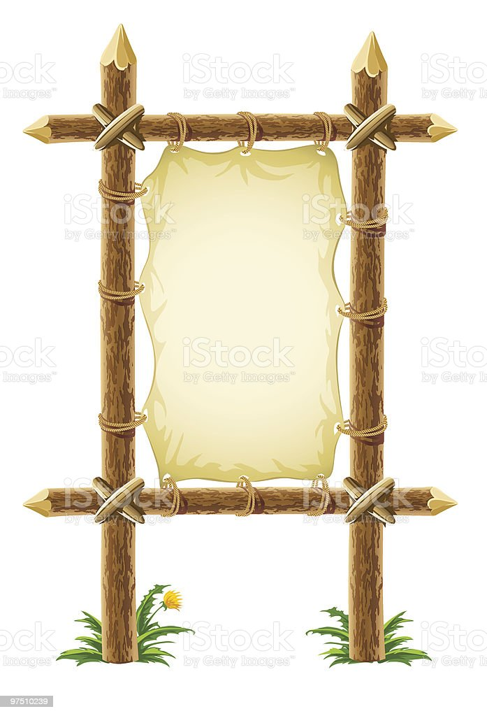 old leather sign on wooden stand royalty-free old leather sign on wooden stand stock vector art & more images of ancient