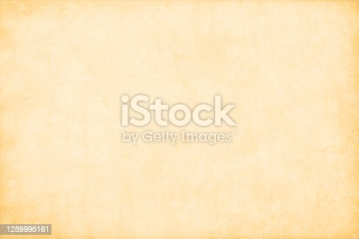 Horizontal vector illustration of a fawn or light brown coloured wall textured smudged empty, blank wallpaper.