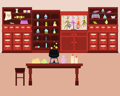 Old Magic Laboratory