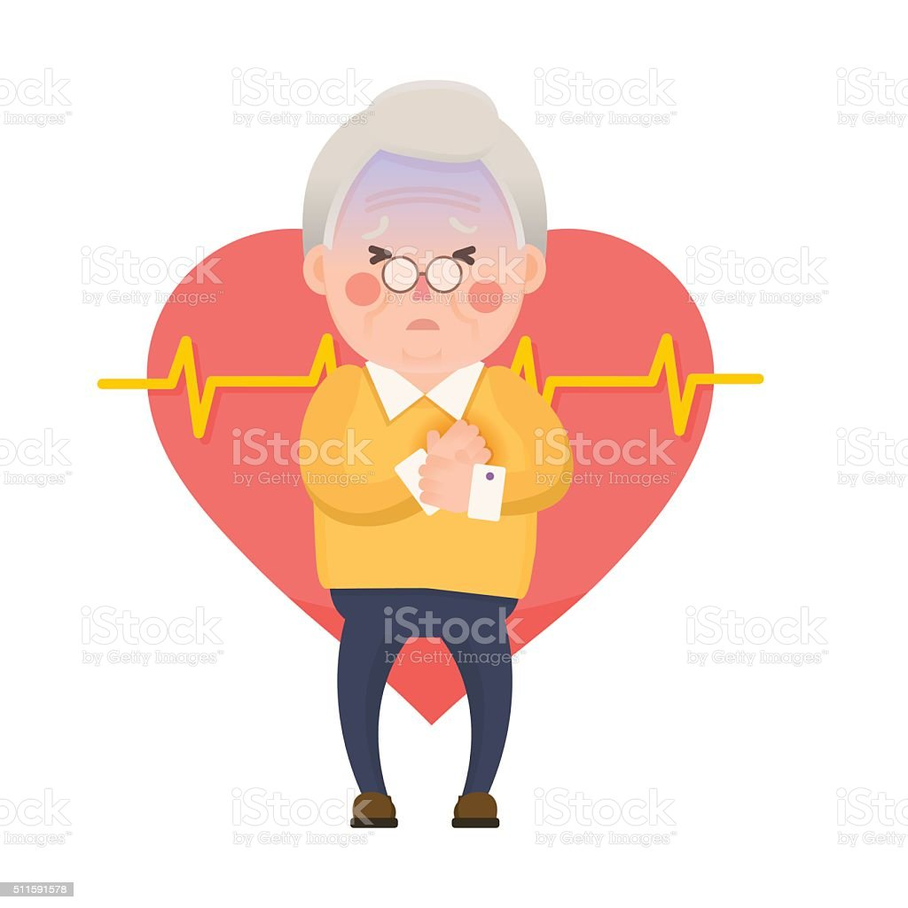 royalty free heart attack clip art vector images illustrations rh istockphoto com heart attack clipart free heart attack clipart